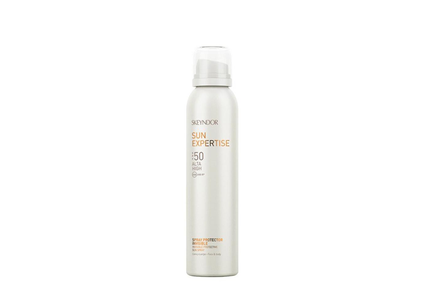 Invisible protective sun spray SPF50